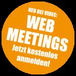 WEB Meeting @ VIDEC - Jetzt anmelden!