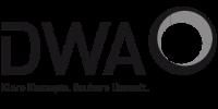 Logo der Deutschen Vereinigung für Wasserwirtschaft, Abwasser und Abfall e. V. (DWA)